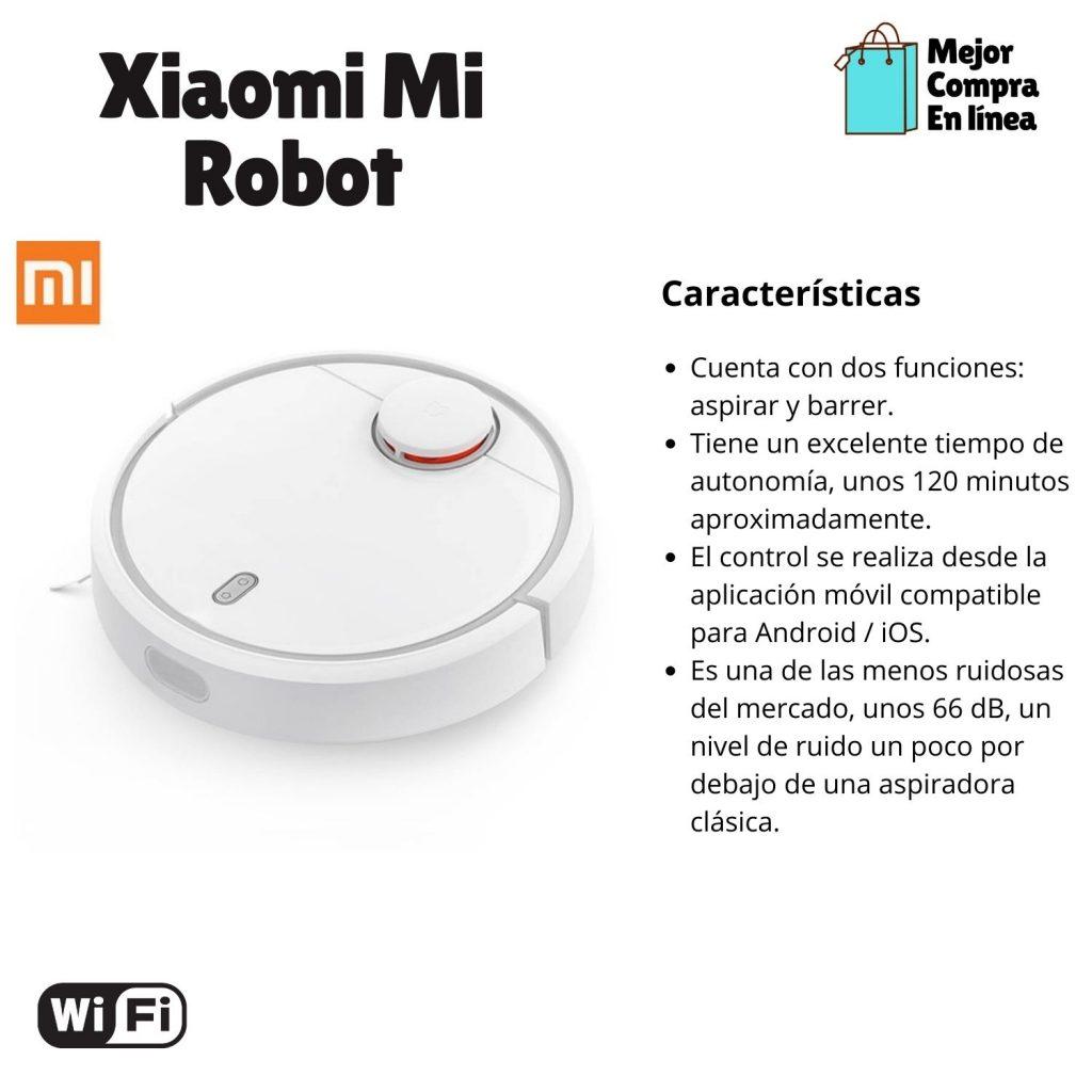 Aspirador Inteligente Xiaomi Mi Robot