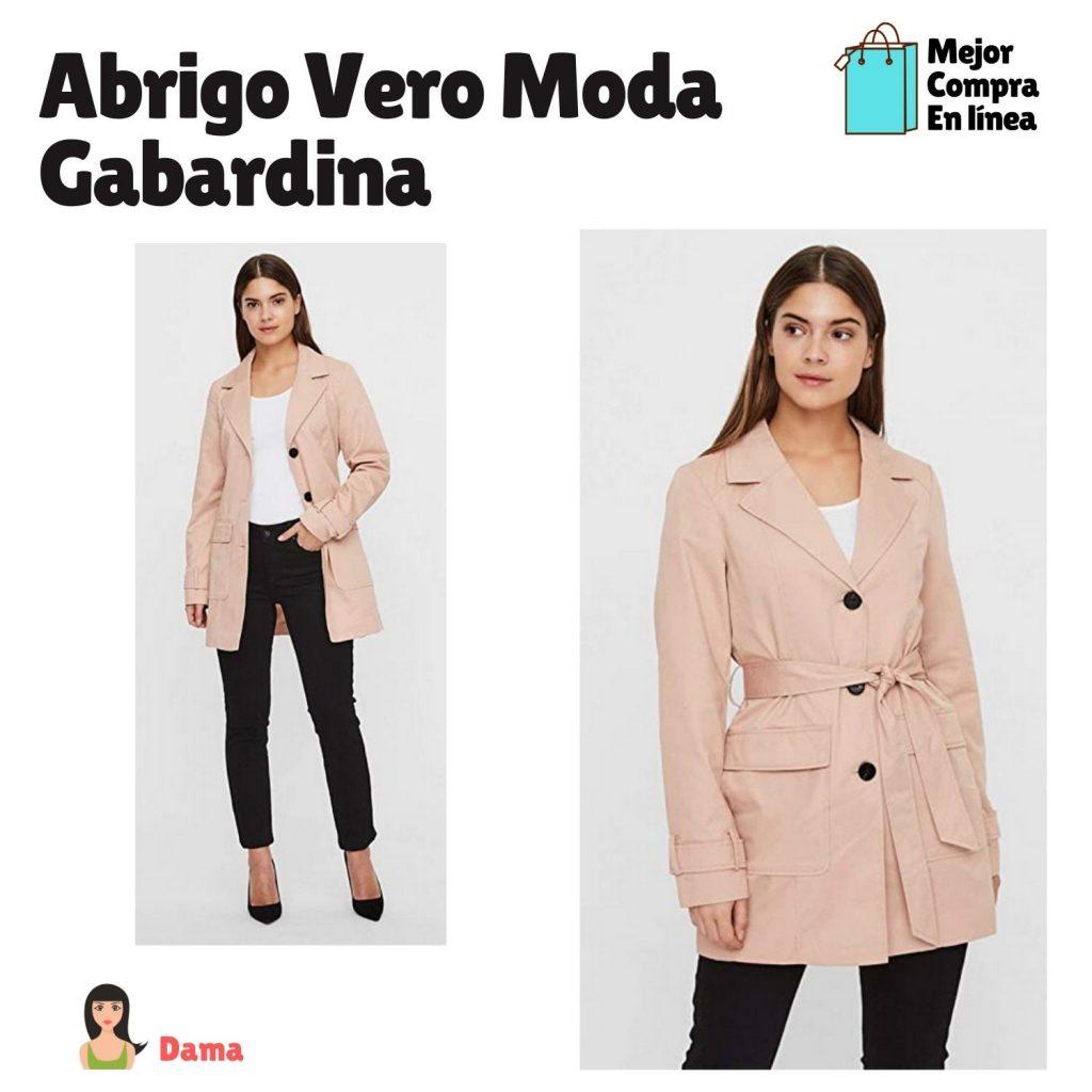 Abrigo de dama Vero Moda Gabardina