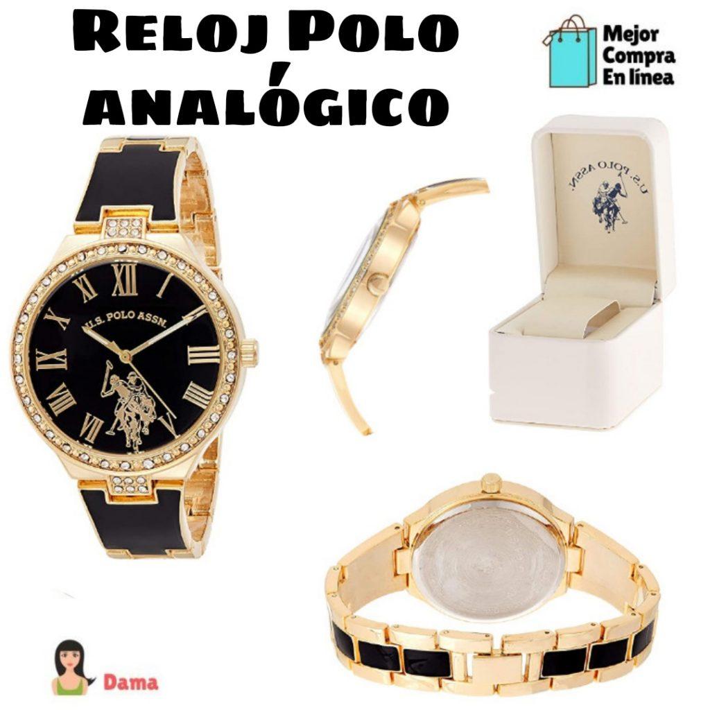 reloj polo para mujer