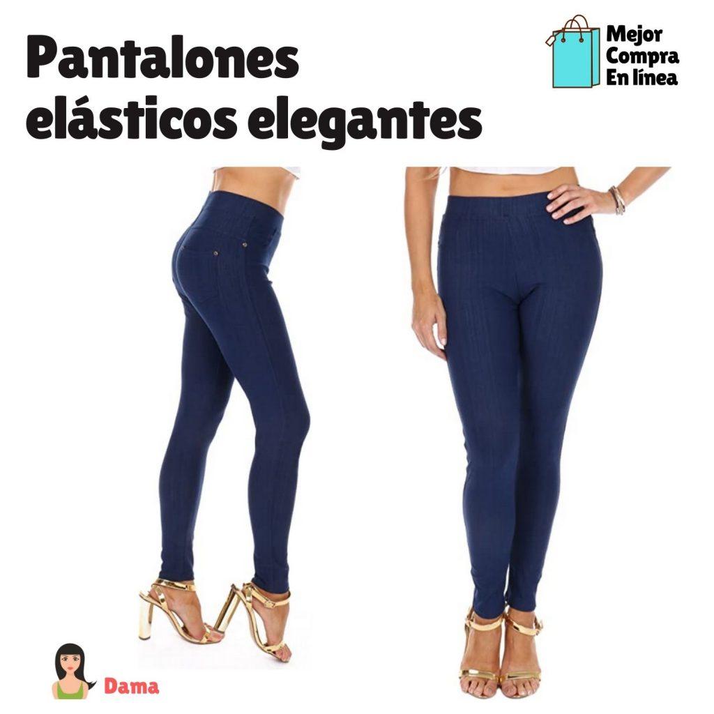 Pantalones elásticos elegantes