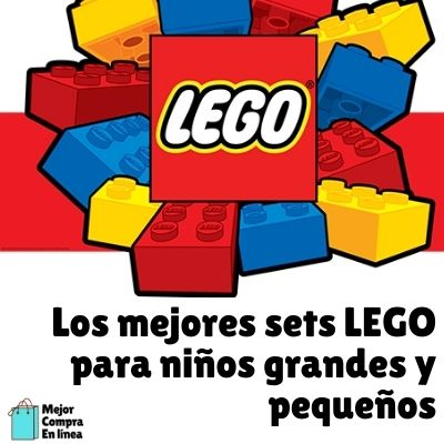 Mejores set de lego para niños de todas las edades en Amazon