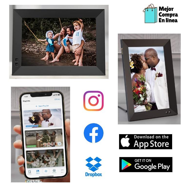 portaretrato digital para el día de san Valentín