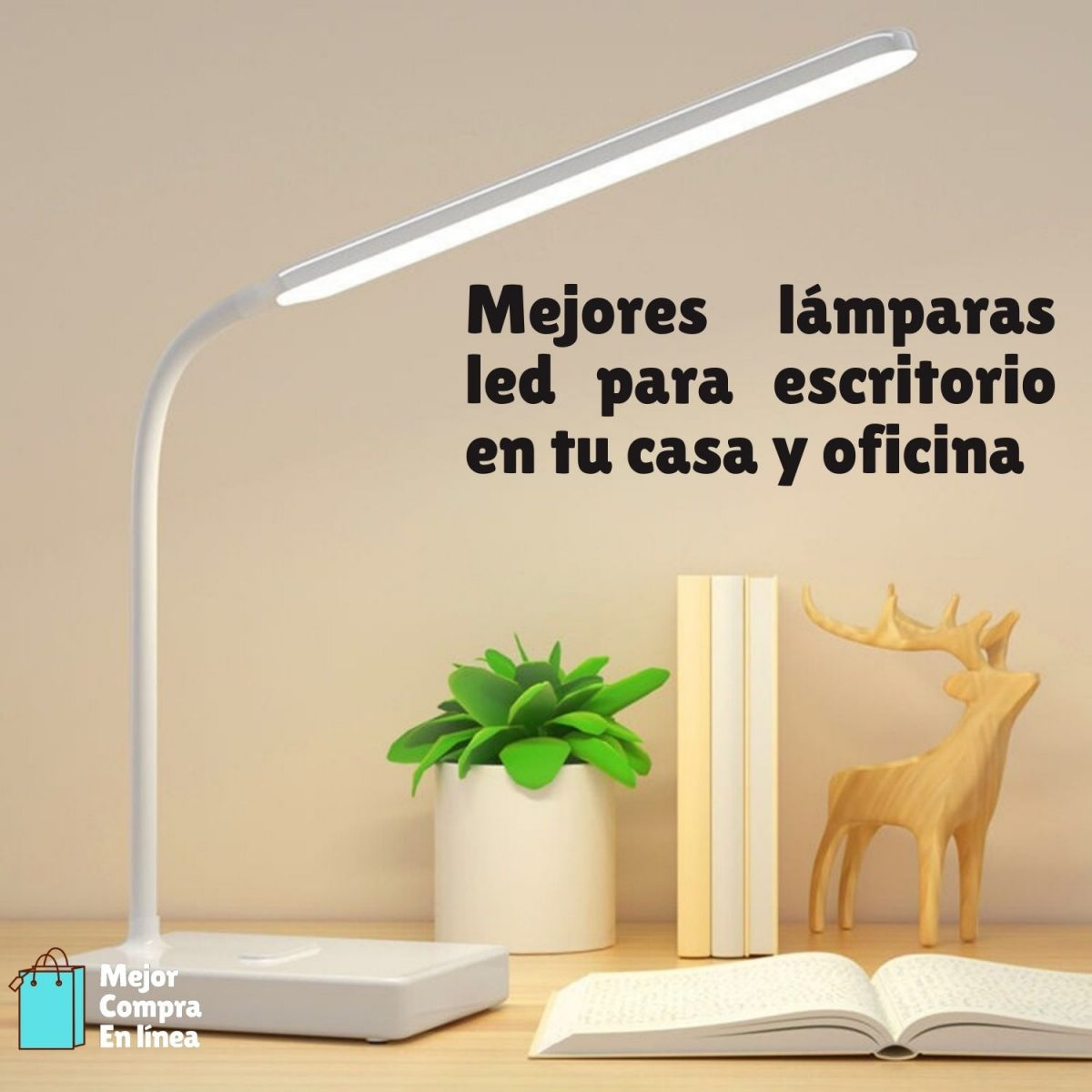 Lamparas LED escritorio y oficina