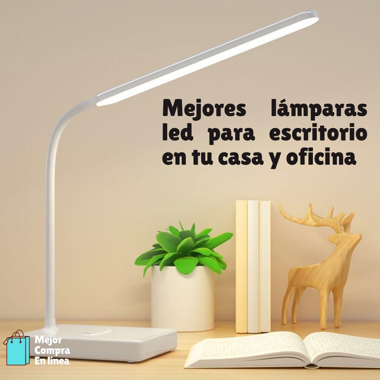 Lamparas LED escritorio y oficina