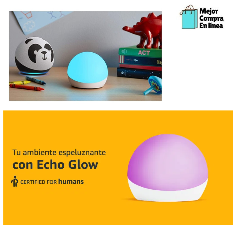 lámparas led para escritorio Echo Glow